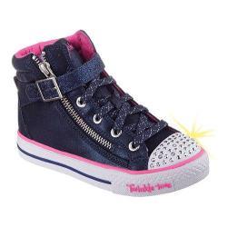 Girls' Skechers Twinkle Toes Shuffles Heart N Sole Dark Navy