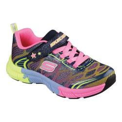 Girls' Skechers Swivels Turn It Up Sneaker Navy/Multi