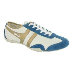 Women's Gola Capital White/Gold/Airforce Blue