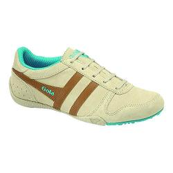 Women's Gola Chase Ecru/Tan/Blue