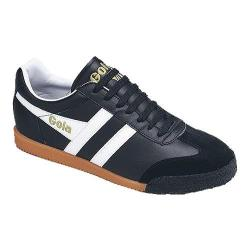 Women's Gola Harrier Leather Black/White