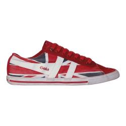 Men's Gola Quota Union Jack Red/Navy/White