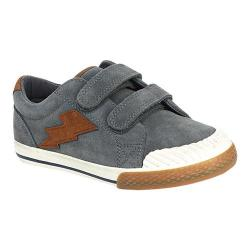 Boys' Hanna Andersson Kasper Hook and Loop Sneaker Artifact Grey Suede