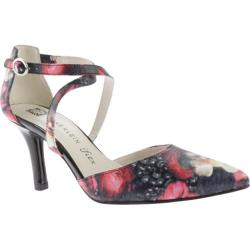Women's Anne Klein Fion Heel Red Multi Floral