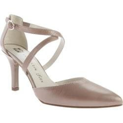 Women's Anne Klein Fion Heel Taupe/Taupe Leather