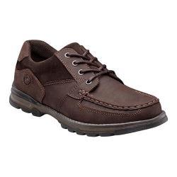 Men's Nunn Bush Plover Moc-Toe Lace-Up Brown Leather