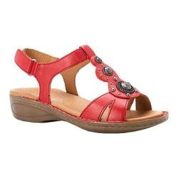 Women's ara Hudson 37203 Red Leather