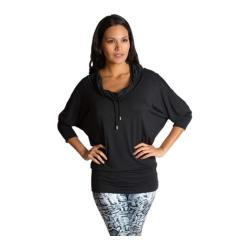 Women's Be Up Cowl Neck Jacket Black