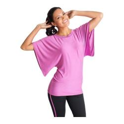 Women's Be Up Wings Short Sleeve Top Purple