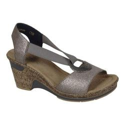 Women's Rieker-Antistress Roberta 62 Wedge Maus/Beige Leather