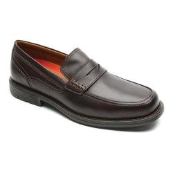 Men's Rockport Day Trading Penny Dark Brown Leather