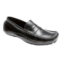 Men's Rockport Luxury Cruise Penny Black Leather