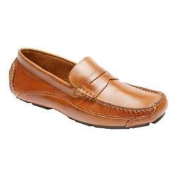 Men's Rockport Luxury Cruise Penny Tan Leather