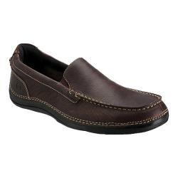 Men's Rockport Thru The Week Slip On W Gore Dark Brown Full Grain Leather