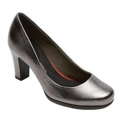Women's Rockport Total Motion 75mm Pump Pewter Leather