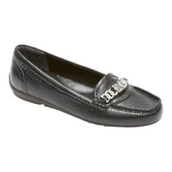 Women's Rockport Total Motion Chain Keeper Nero Leather