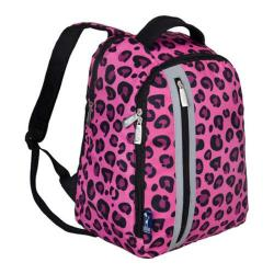 Girls' Wildkin Echo Backpack Pink Leopard
