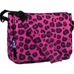 Wildkin Pink Leopard Kickstart Messenger Bag