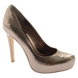 Women's BCBGeneration Parade Matte Bronze Metallic Snake
