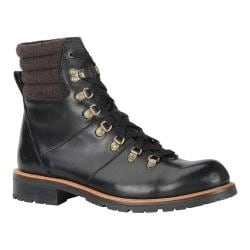 Men's Marc New York by Andrew Marc Chester Boot Black/Asphalt Black Leather