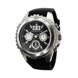 Men's Momentum Watch D6 Chrono Fit Rubber Black/Black Fit Rubber