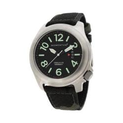 Men's Momentum Watch Steelix Nylon Black/Camo Nylon