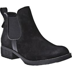 Women's Steve Madden Grahaam Ankle Boot Black Nubuck