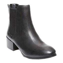 Women's Steve Madden Jodpher Chelsea Boot Black Leather