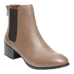 Women's Steve Madden Jodpher Chelsea Boot Stone Leather