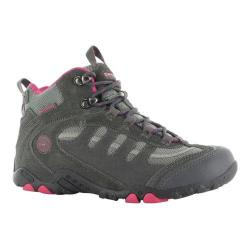 Women's Hi-Tec Penrith Mid Waterproof Charcoal/Cyclamen