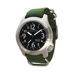 Men's Momentum Watch Base Layer NATO Watch Black/Green NATO
