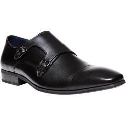 Men's Steve Madden Kerwin Monkstrap Black Leather