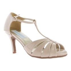 Women's Dyeables Martina T-Strap Nude Patent 15969878