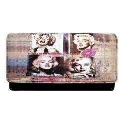Women's Marilyn Forever Beautiful Wallet MM2120 Black