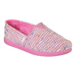Girls' Skechers BOBS World Boucle Day Alpargata Pink/Multi