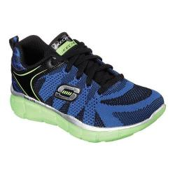 Boys' Skechers Equalizer Quick Reaction Sneaker Black/Lime