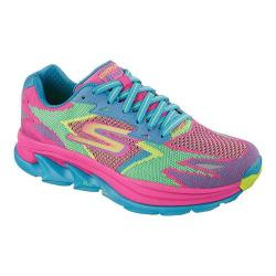 Women's Skechers GOrun Ultra Road Hot Pink/Turquoise