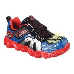Boys' Skechers Luminators Datarox Hydrometer Sneaker Blue/Red