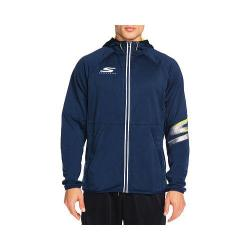 Men's Skechers Remastered Final Cut Hooded Zip Jacket Navy