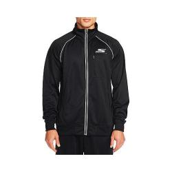 Men's Skechers Remastered Short Circuit Track Jacket Black