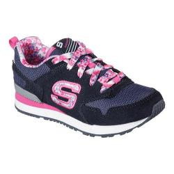 Girls' Skechers Retrospect Floral Fancies Sneaker Blue/Multi