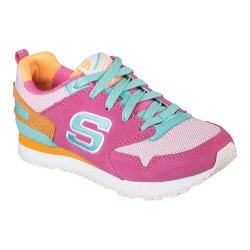 Girls' Skechers Retrospect Retro Racer Sneaker Hot Pink/Multi