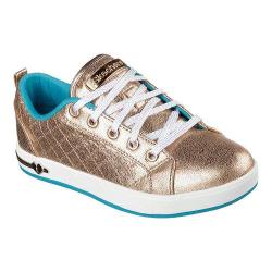 Girls' Skechers Shoutouts Shorty Shouts Sneaker Gold