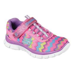 Girls' Skechers Skech Appeal Ziggy Zag Training Shoe Neon Pink/Multi