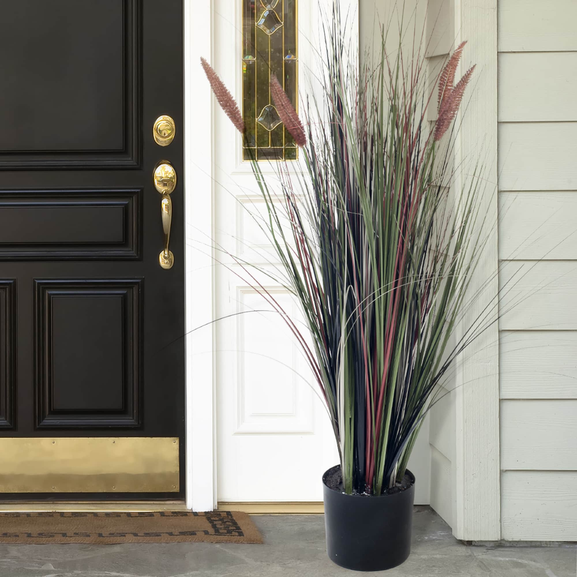 Romano Ornamental Artificial Tall Cattail Grass