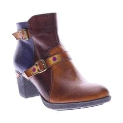 Women's L'Artiste by Spring Step Gatehouse Ankle Boot Camel Multi Leather