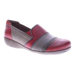 Women's L'Artiste by Spring Step Pineapple Slip-on Red Multi Leather