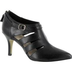 Women's Bella Vita Dylan Cut Out Heel Black Leather