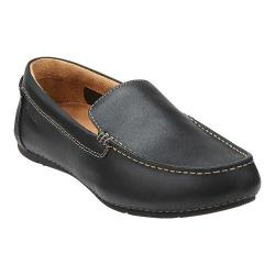Men's Clarks Marcos Flow Black Leather