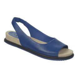 Women's Naya Kiss Slingback Royal Sapphire Mirage Leather